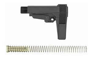 CMMG AR15 RIPBRACE KIT 6POSITION BLACK