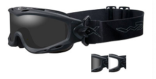 WILEY X SPEAR GOGGLES SMOKE GRAY  MATTE