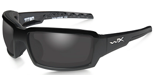 WILEY X TITAN POLARIZED GREY/GLOSS BLACK