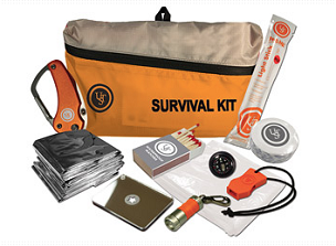 UST FEATHERLITE SURVIVAL KIT 2.0 ORANGE