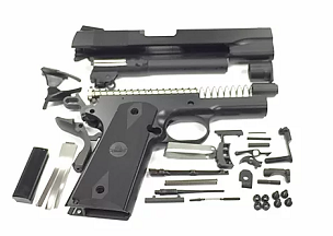 80% 1911 9MM COMPLETE BUILDERS KIT WITH JIGS AND MAGAZINE