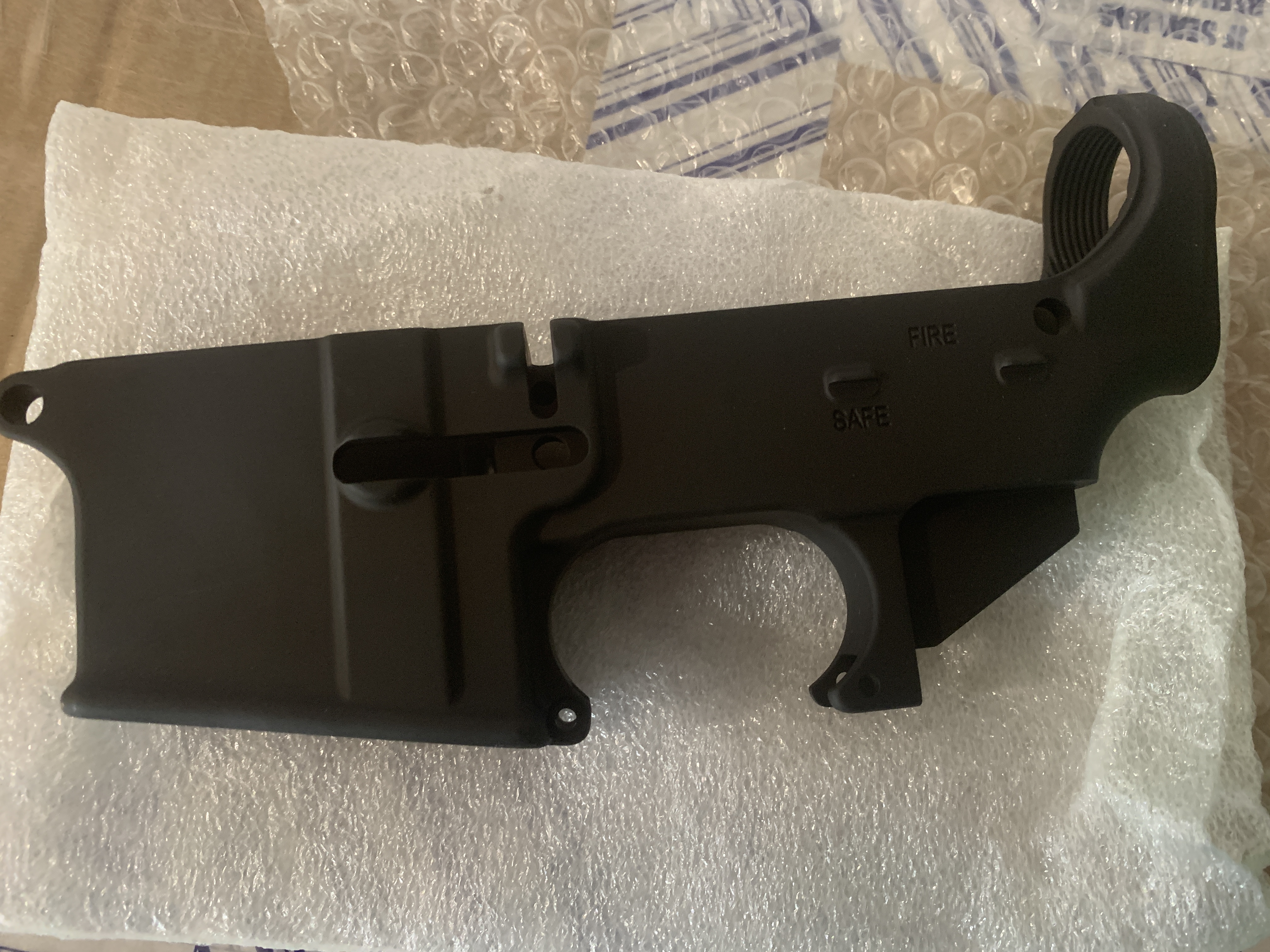 80% AR15 LOWER RECEIVER