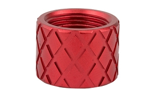 BACKUP THREADED PROTECTOR 1/2X28 RED