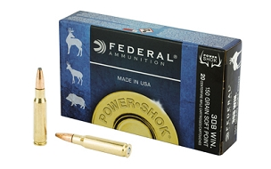 FED POWERSHOCK 308WN 150GR SP 20 ROUND BOX