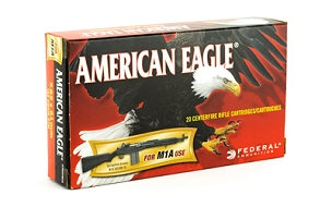 FED AM EAGLE 762X51 168GR M1A 20 ROUND BOX