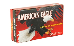 FED AM EAGLE 223 REM 62GR FMJ 20 ROUND BOX