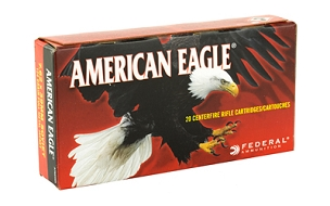 FED AM EAGLE 762X39 124GR FMJ 20 ROUND BOX