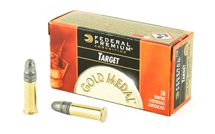 FED GOLD MEDAL 22LR 40GR TGT 50 ROUND BOX
