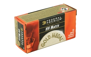 FED GOLD MEDAL 22LR 40GR SLD 50 ROUND BOX