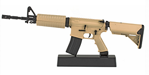 RAVENWOOD AR15 CAST 1/3 SCL NON-FIRE FDE