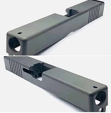 GLOCK 17 STAINLESS STEEL STRIPPED SLIDE GEN 3