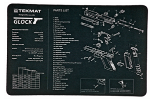 TEKMAT GLOCK CLEANING MAT