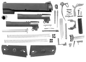 1911 10MM/40S&W COMBO COMPLETE SLIDE WITH TRIGGER PARTS KIT AMBI