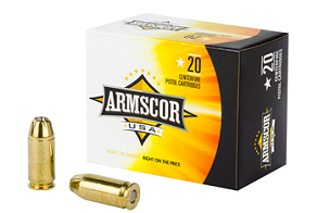 ARMSCOR 45ACP 230GR JHP 20RD BOX