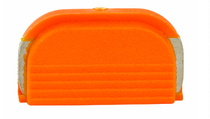 GLOCK OEM SLIDE COVER PLATE HALF ORANGE