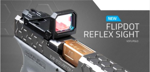 GLOCK FLIPDOT REFEX SIGHT FOR RMR CUT.pn